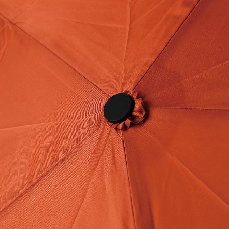 Super Light Hook Collapsible Umbrella - Orange