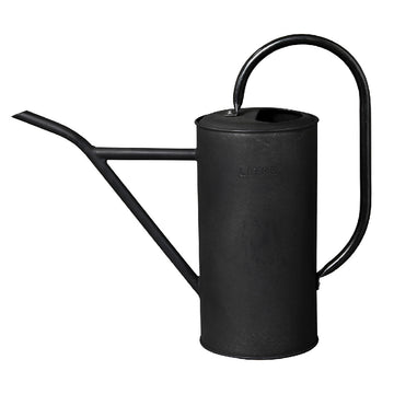 Tin Plate Watering Can - Black, 2.5 L