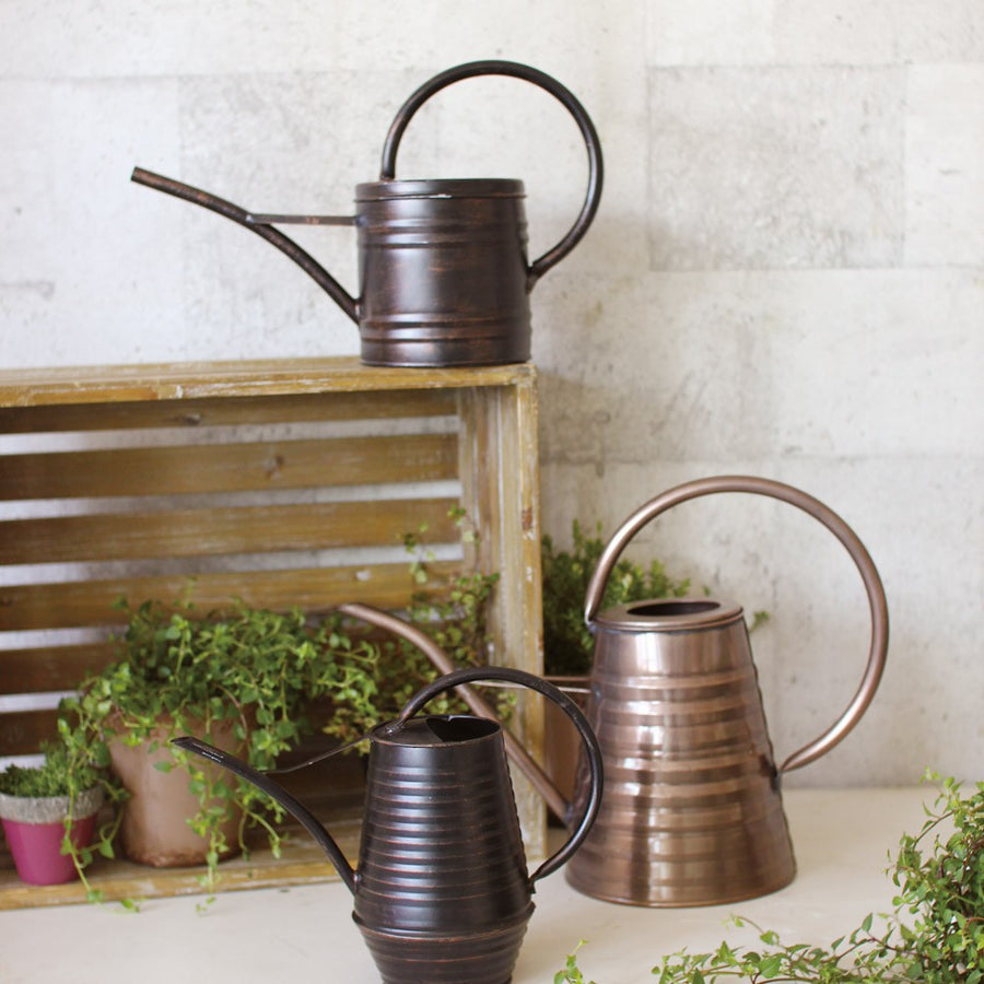 Classical Metal Watering Can - 1.2 Liter