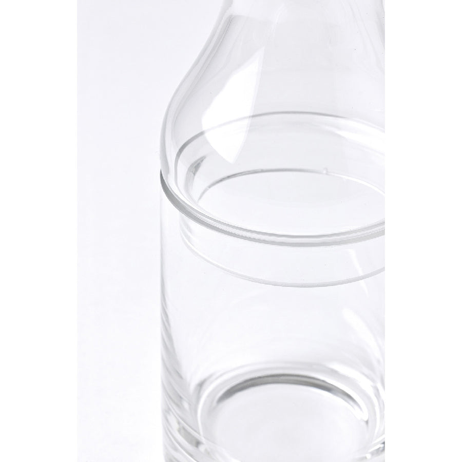 2Way Glass Bottle Flower Base - Small
