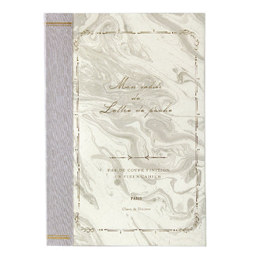 B6 Recycled Paper Notebook - Marble (5