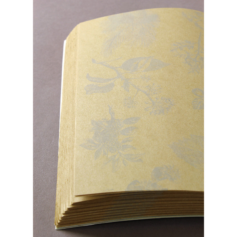 B5 Recycled Paper NoteBook - Botanical (7