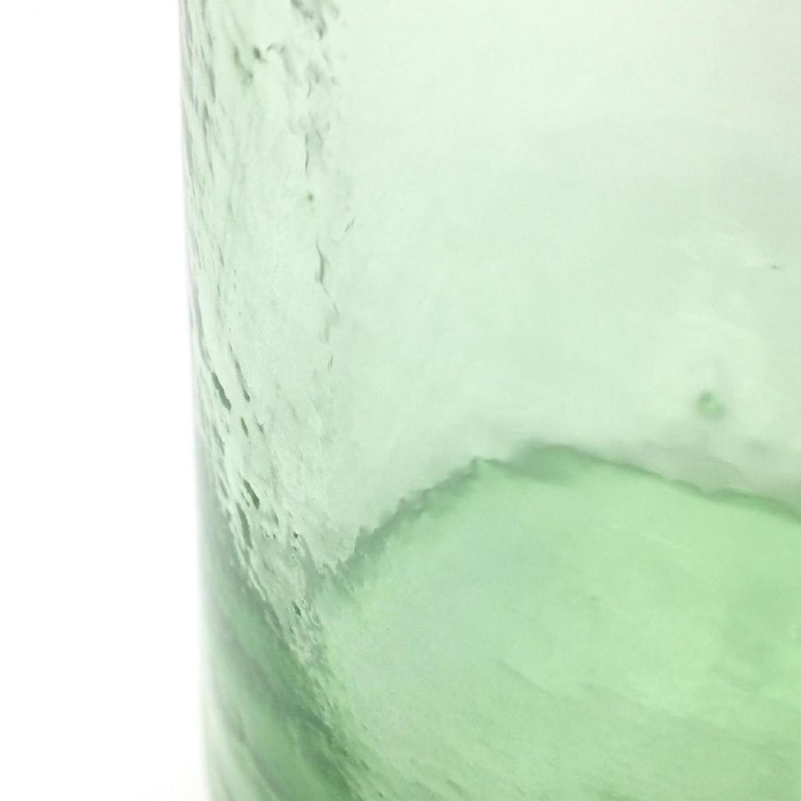 Handcrafted Recycled Glass Vessel - Tall