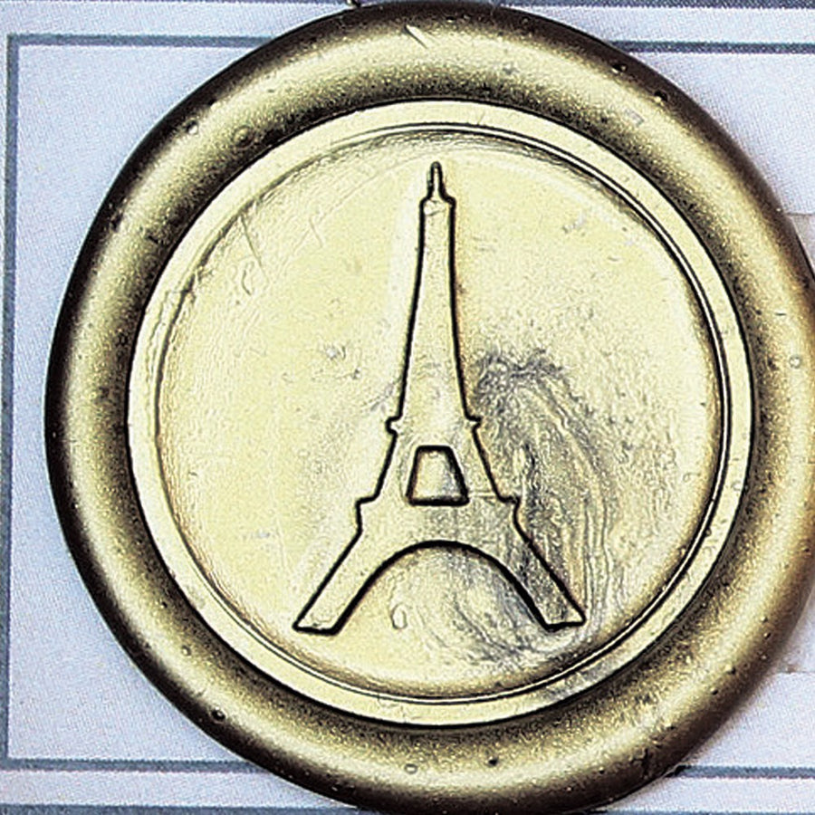 Sealing Wax Stamp, Envelope Vintage Closure - Eiffel Tower