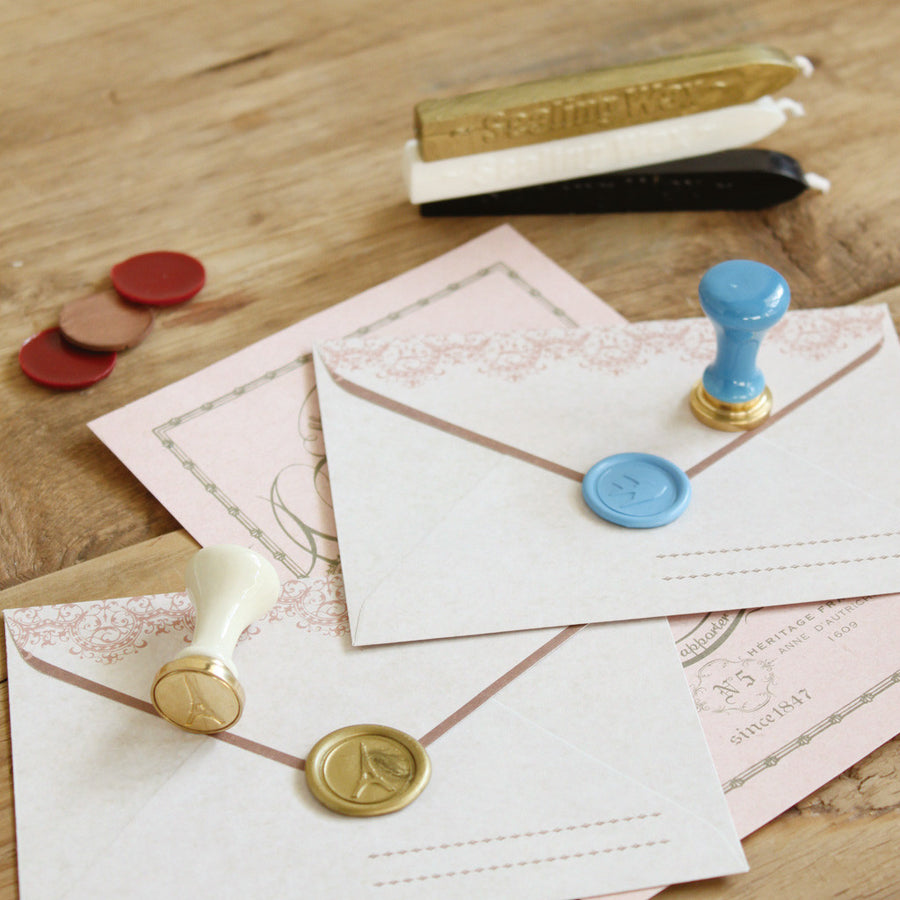 Sealing Wax Stamp, Envelope Vintage Closure - Anchor