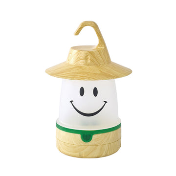SMiLE Soft LED Night Lantern - Woody Beige | Battery-Operated