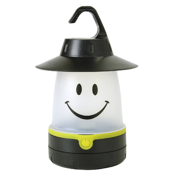 SMiLE Soft LED Night Lantern - Black | Battery-Operated