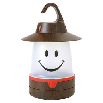 SMiLE Soft LED Night Lantern - Woody Brown | Battery-Operated