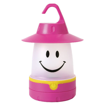 SMiLE Soft LED Night Lantern - Raspberry | Battery-Operated