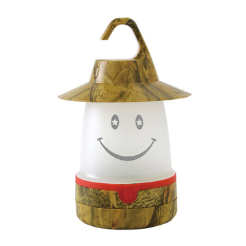 SMiLE Soft LED Night Lantern - Camouflage Brown | Battery-Operated