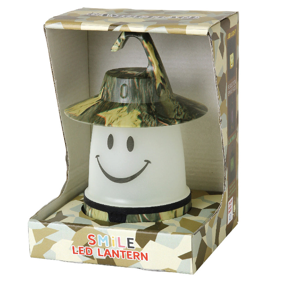 SMiLE Soft LED Night Lantern - Camouflage Khaki | Battery-Operated