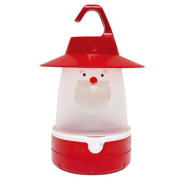 Soft LED Night Lantern - Santa | Battery-Operated