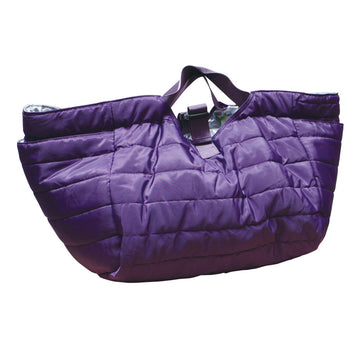Quilted Shoulder Bag - Purple/Passion