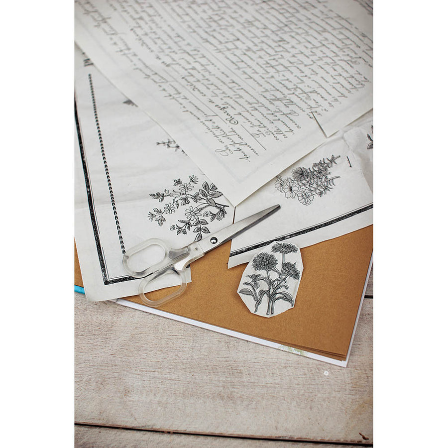 Newspaper Wrapping 60 sheet Set My Favorite