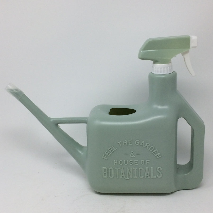 Multipurpose Spray Bottle - Watering Pot and Sprinkler - Grey Blue