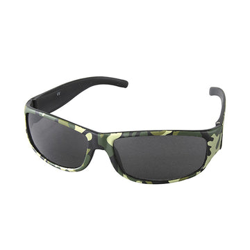 Children/Toddlers Fashion Sunglasses - Camo, Khaki - UV-Protected Summer Eyewear, Kids 4-14 Years