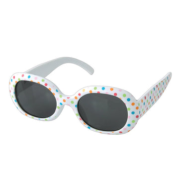 Babies Fashion Sunglasses - Colorful Dot - UV-Protected Summer Eyewear, Infant 0-3 years