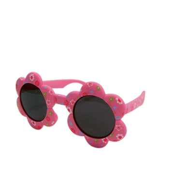 Babies Fashion Sunglasses - Flower, Pink - UV-Protected Summer Eyewear, Infant 0-3 years