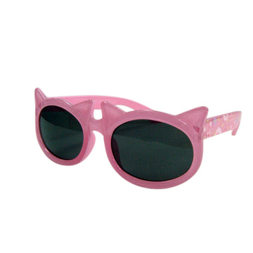 Children/Toddlers Fashion Sunglasses - Cat, Pink - UV-Protected Summer Eyewear, Kids 4-14 Years
