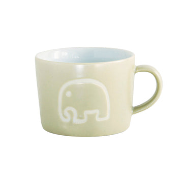 Ceramic Kids Mug  - Elephant