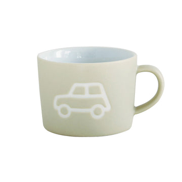 Ceramic Kids Mug  - Car