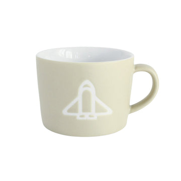 Ceramic Kids Mug  - Spaceship