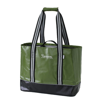2 In 1 Cooler Tote Bag with Carry-On Container, Multipurpose - Khaki