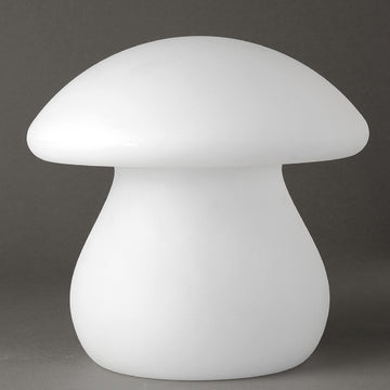 Solar Powered  LED Light, Changing Color  - Mushroom - Rechargeable with Remote