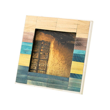 Photo Frame - Ancient Tile, Mixed Color - Square