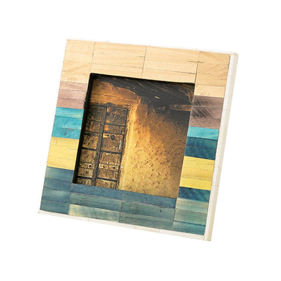 Photo Frame - Anciente Tile, Mixed Color - Square