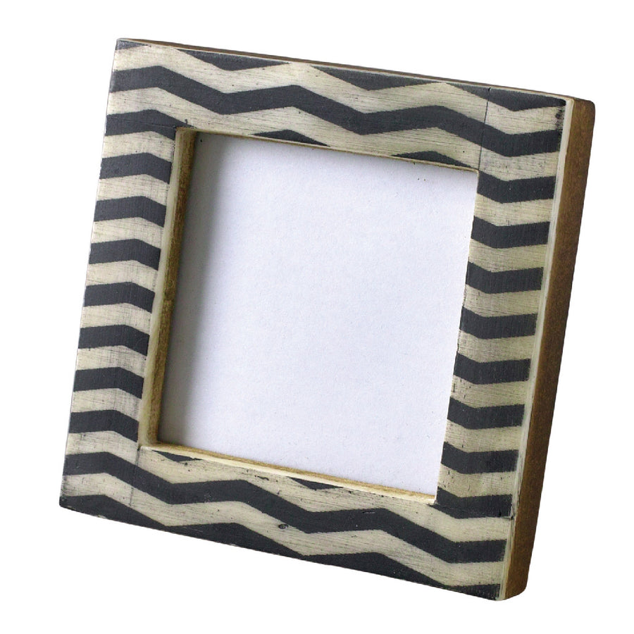 Mini Square Photo Frame - Zebra