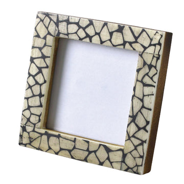 Mini Square Photo Frame - Crackle
