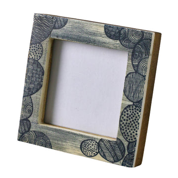 Mini Square Photo Frame - Circle Fun