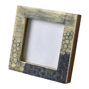 Mini Square Photo Frame - Bubble
