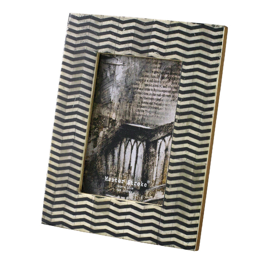 Postcard Size Photo Frame - Zebra