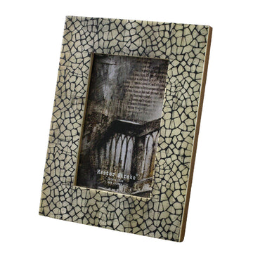 Postcard Size Photo Frame - Crackle