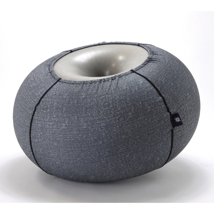 Jelly Pouffe Grey