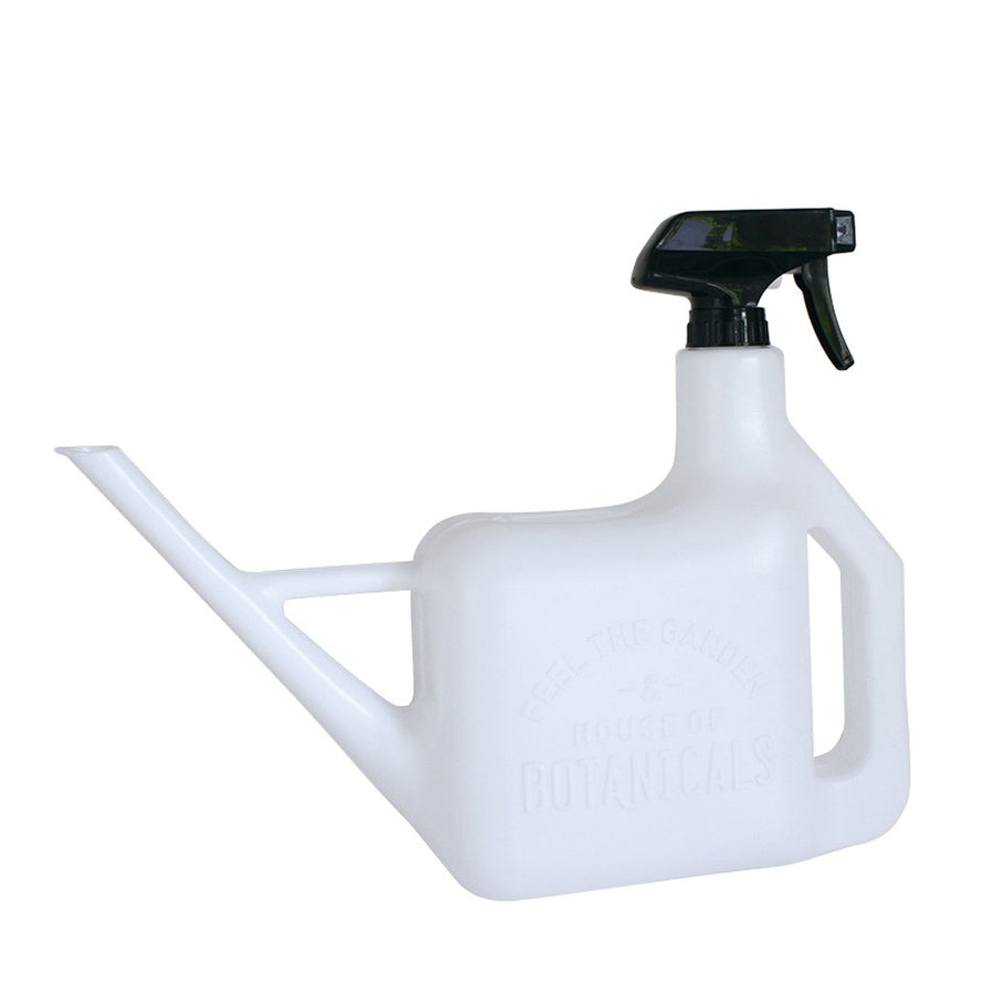 Multipurpose Spray Bottle - Watering Pot and Sprinkler - White