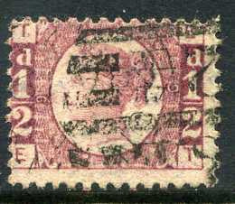 1870 1d Rose-red plate 9 lettered ET. A fine used example of this scarce plate with clear plate number.