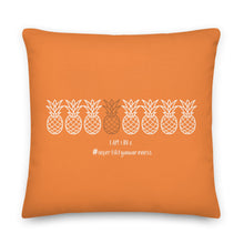 Load image into Gallery viewer, I am 1 in 8 (Pineapple Design) Premium Pillow