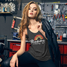 Load image into Gallery viewer, Mommy in the Waiting - Dark Hormone Puzzle™ Women's Flowy Racerback Tank