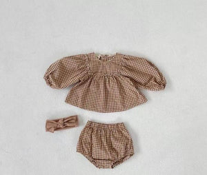 Ada Gingham Set