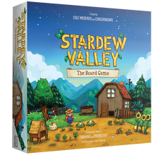 Load image into Gallery viewer, Stardew Valley: The Board Game, a cooperative game of farming and friendship for 1 to 4 players, ages 13 and up.
