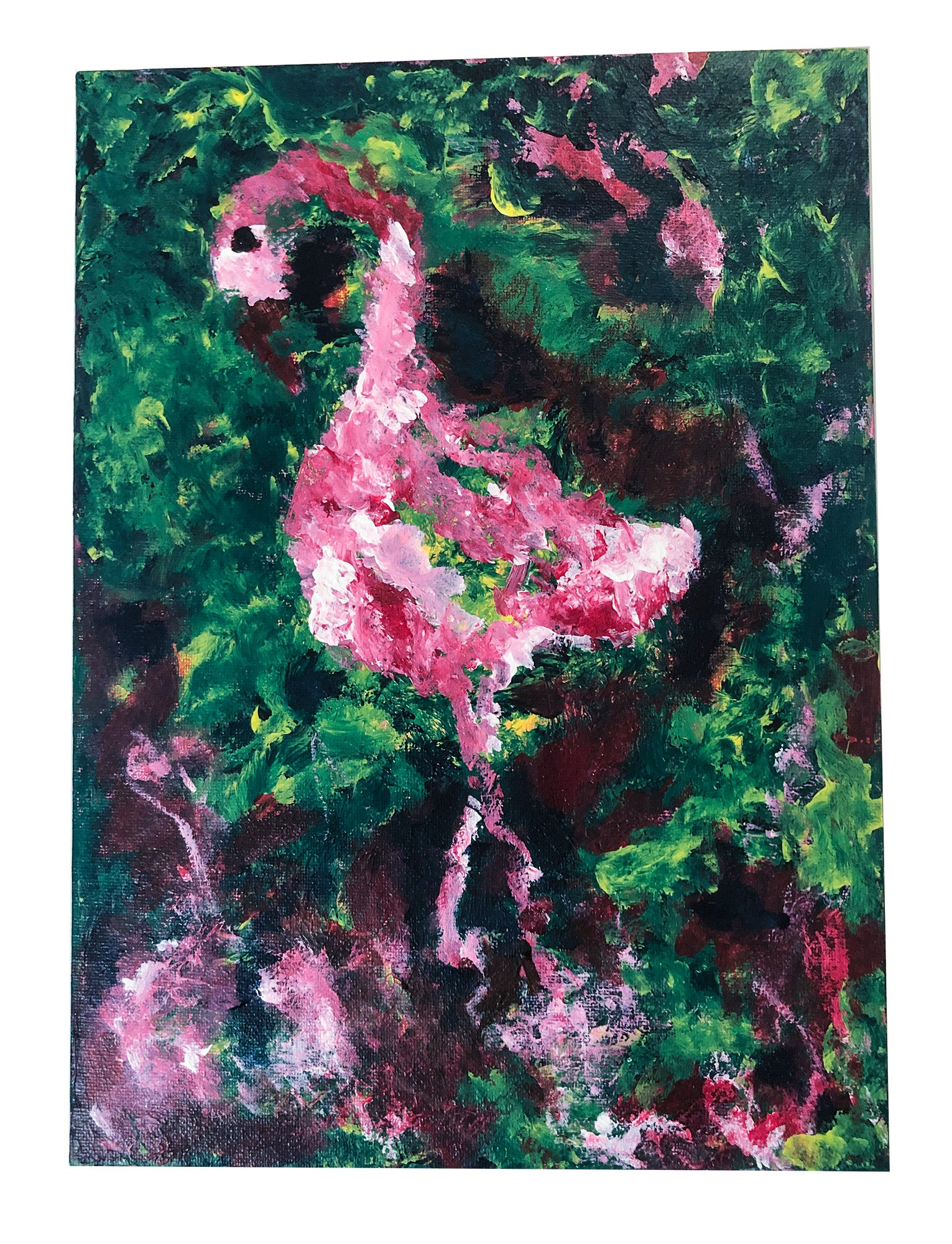 Flamingo II ART ORIGINAL