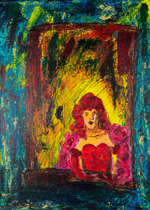 Madame Monsieur 30x40cm ART ORIGINAL