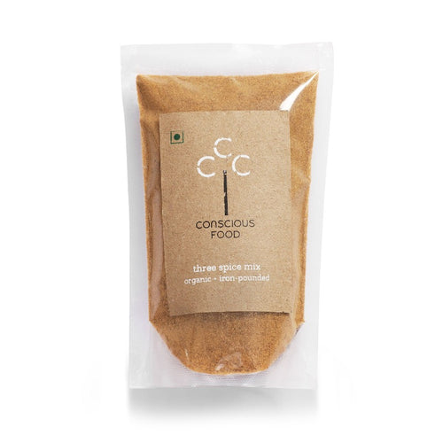 3 Spice Mix (Coriander, Cumin and Cinnamon) - Conscious Food Pvt Ltd