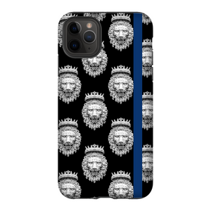 Crowned Lion // Thin Blue Line // Matte Tough-Case