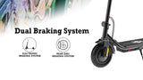 Urban Drift electric scooter with dual braking system, electronic braking system and rear disc braking system. |EZOOM | EZOOMTech