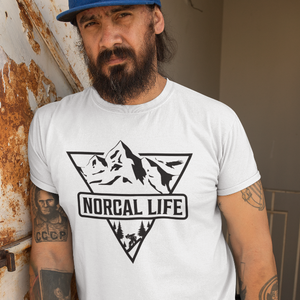 NorCal Life Men's Dry Fit T-Shirt - Hella Shirt Co.