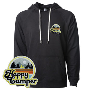 Happy Camper Hoodie - Hella Shirt Co.